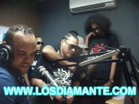 El Batallon - Entrevista En La Emisora La Kalle 96.3 En Stgo Con Dj Joseph La Roca!!.wmv