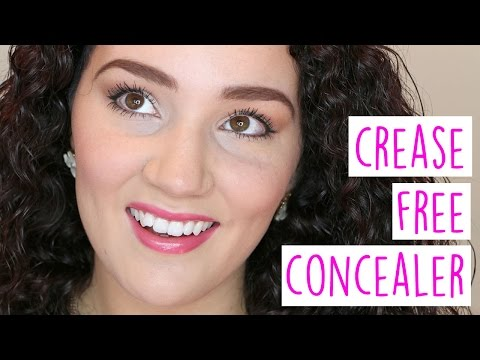 Concealer Creases?   Common Makeup Problems Series