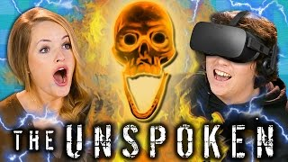 WIZARDING WAR BETWEEN REACTORS!   The Unspoken (Teens & College Kids VR Mixed Reality Gaming)