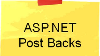 ASP.NET Postback interview question with answer (Postback,Ispostback and Autopostback)