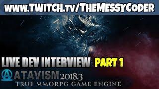 Unity Interview - Atavism MMO Maker 2018.3 Update! part 1