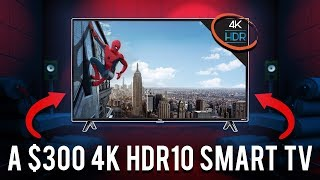 Is The Best Selling Budget 4K HDR TV On Amazon Worth It? | TCL 4-Series Review