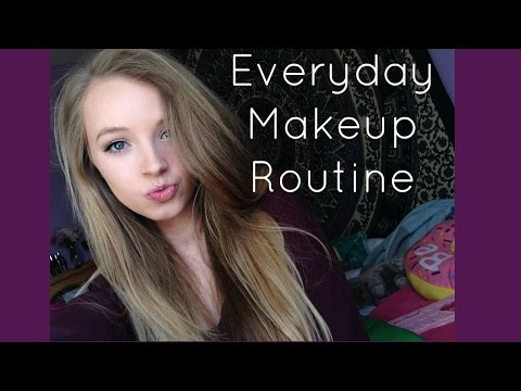 MY EVERYDAY MAKEUP ROUTINE - SPRING 2016