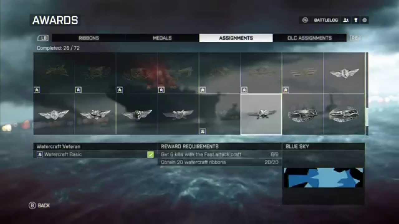 Frostbite Camo Bf4 Bf4 Blue Sky Camo Preview\