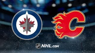 Winnipeg Jets Vs. Calgary Flames | NHL Game Recap | October 7, 2017 | HD