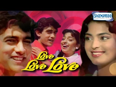 Love Love Love - Aamir Khan And Juhi Chawla - Superhit Bollywood Movies - Full Length - Hq video