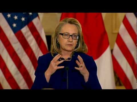 Secretary Clinton Delivers Remarks With Japanese Foreign Minister Kishida