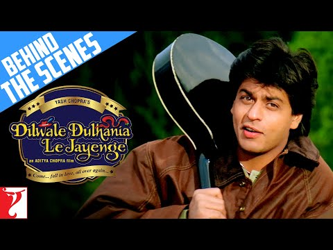 The Making ot the Film -  Part 1 - Dilwale Dulhania Le Jayenge...
