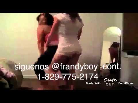mujeres desacata bailando kien eh tu papi de frandyboy