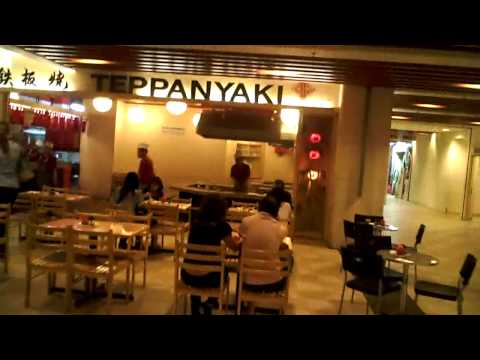 Teppanyaki bij Berjaya Times Square shopping mall in Kuala Lumpur Maleisie