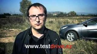 Hyundai Sonata YF - Тест-драйв - UK