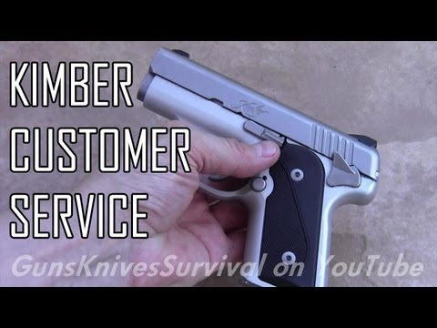 Kimber Solo Update 2: Kimber Service Department