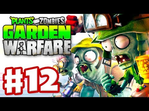 Plants vs. Zombies: Garden Warfare - Gameplay Walkthrough Part 12 - Gardens & Graveyards (Xbox One)
