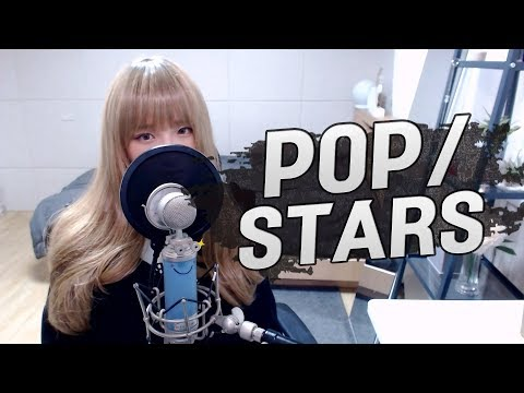 K/DA - 'POP/STARS' (Feat.(G)I-DLE, Madison Beer, Jaira Burns) COVER by 새송|SAESONG