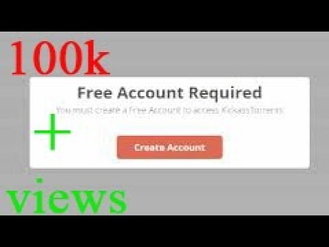 how to download torrent in kickass without creating free account 100% works streaming vf