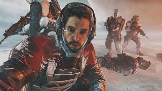 Call of Duty Infinite Warfare - All Kit Harrington / Jon Snow Scenes Admiral Kotch