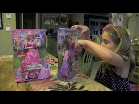 Girl Toy Review:  Barbie Princess And The Popstar -  Keira and Tori Dolls
