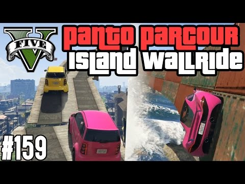 PANTO PARCOUR & ISLAND WALLRIDE - TRYHARD ACTIVATE ! (+DOWNLOAD) | GTA V - CUSTOM MAP RENNEN