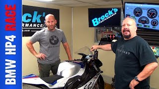 HP4 Race Dyno Runs and detailed discussion with BMW's Nate Kern
