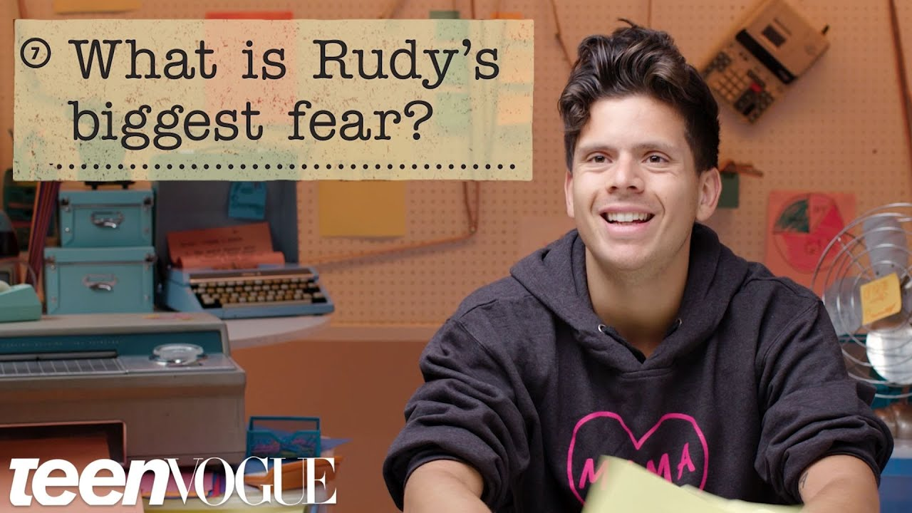 Rudy Mancuso Guesses How 671 Fans Responded to a Survey About Him | Teen Vogue