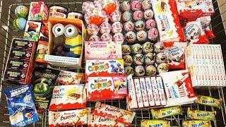 A Lot Of Candy 2018 NEW #59 Киндер Сюрпризы Маша и Медведь Черепашки Ниндзя Киндер Джой
