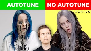 Comparing Singers With & Without Autotune (Billie Eilish, Charlie Puth & MORE)