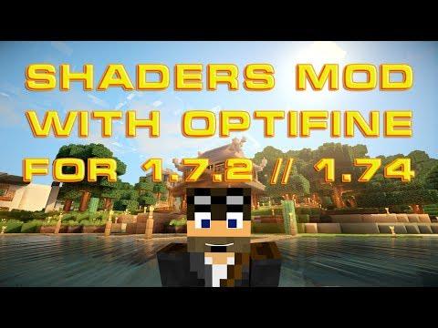 Как установить шейдеры на Minecraft 1.7.2 / 1.7.4