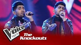 Shemil Clinson | Uyire Uyire | Knockouts | The Voice Teens Sri Lanka