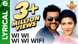 Wi Wi Wi Wi Wifi | Lyrical Video | S3 | Suriya, Anushka Shetty, Shruti Haasan | Karthik