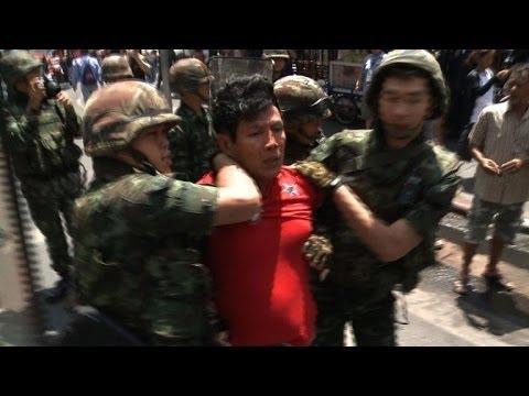 Angry Thai anti-coup protests despite junta warnings