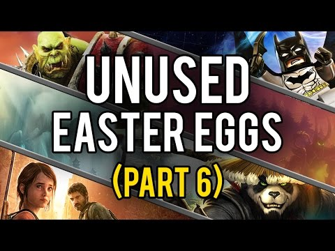 Best Unused Video Game Easter Eggs and Secrets (Part 6)