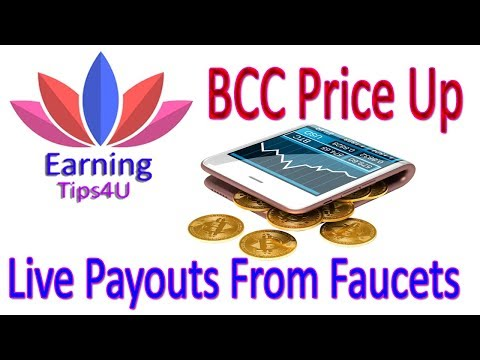 BCC Rate Up - Good News Earn Free Bitcoin For Beginners  In Hindi