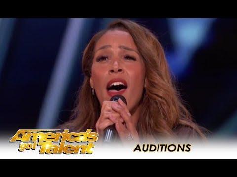 Glennis Grace: STUNNING 39-Year-Old Singer Tribute To Whitney Houston!   America's Got Talent 2018