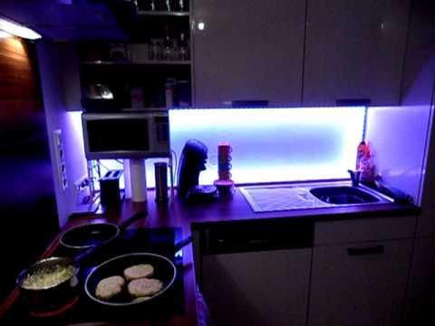 Indirekte LED Beleuchtung Küche