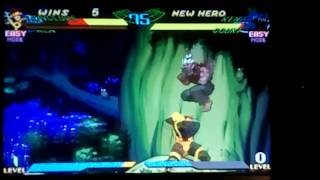 Marvel Super heroes vs Street Fighter-Arcade-Gameplay