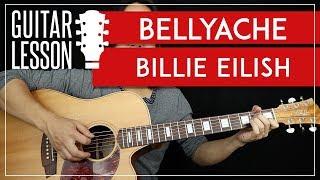 Bellyache Guitar Tutorial - Billie Eilish Guitar Lesson   TABS + Easy Chords + Guitar Cover 