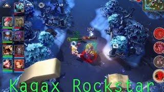 Kagax Rockstar - Heroes of order & chaos [ HOC ]