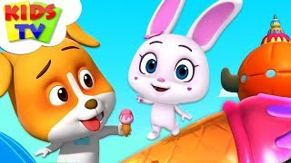 Lily's Ice Scream | Loco Nuts Cartoon Shows | Videos For Toddlers | Kids TV