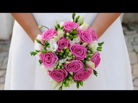 Свадебный букет из фарфора и глины своими руками. Robinzon.TV