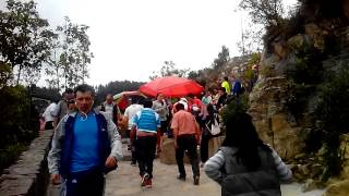 Subida a Monserrate parte 2
