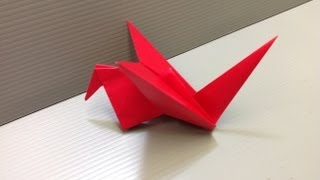 Daily Origami: 085 - Flapping Bird