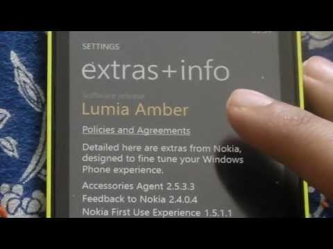Lumia 520 Amber Update