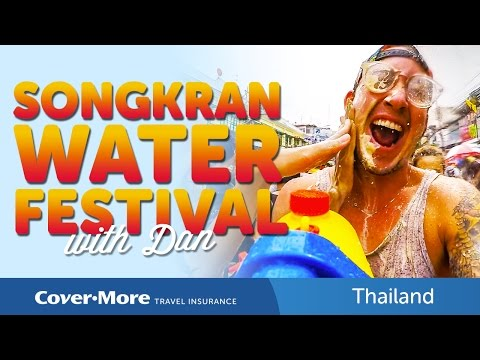 SONGKRAN 2015 - Giant Water Festival, Thailand