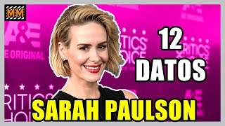 "12 Curiosidades sobre ""SARAH PAULSON"" - (American Horror Story) -  Master Movies "