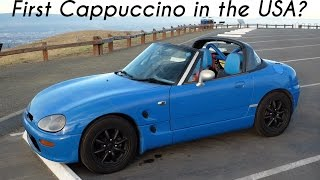 Driving the First Suzuki Cappuccino in America!