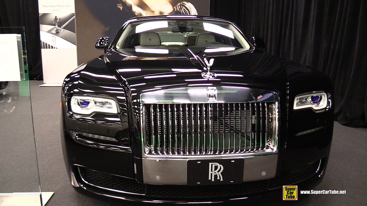 2015 Rolls-Royce Ghost Serie II - Exterior and Interior ...