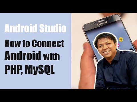 How to Connect Android with PHP, MySQL - Android Studio 2015