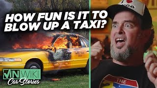 What's more fun than a taxi fire?