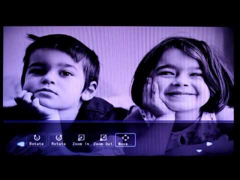 Digital Photo Frame Demo Video