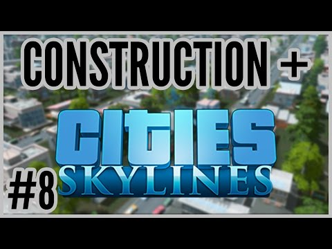 TRAINZ! = Construction + Cities: Skylines #8